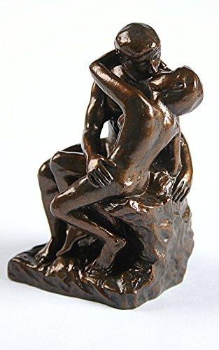 (Rodin The Kiss Miniature Statue Wedding Cake Topper PA02RO Parastone)