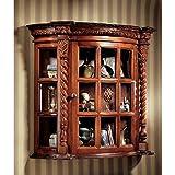 Display Cabinet - Cardington Square Manor - Wall Mounted Curio Cabinet