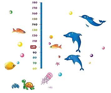 Hqysjin Murales de Cartas de Altura de Delfines,170cm×145cm ...