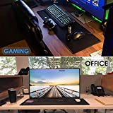Ktrio Large Gaming Mouse Pad with Stitched
