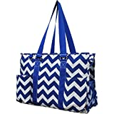 Large Canvas Zippered Beach Tote Bag With Pockets Review