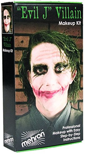 [KMP-EJ (Kit) Joker Evil L. Villain Makeup Kit] (Joker Costume Makeup)