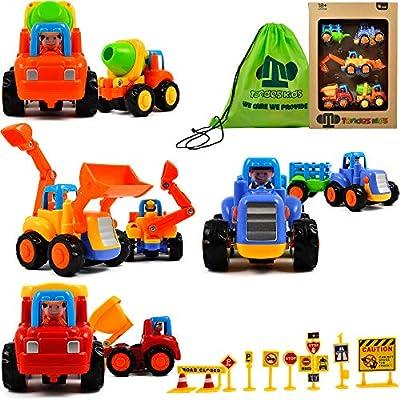 Coches De Juguetes Para Incluye Pack De 4 Vehículos De ...
