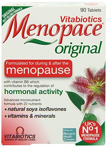 - Vitabiotics Menopace One A Day Tablets Nutrients for During the Menopause 90 Tablets by Vitabiotic