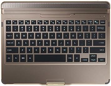 SAMSUNG EJ-CT800 Bluetooth Bronce Teclado para móvil - Teclados para móviles (Bronce, Galaxy Tab S T800, Batería, Acoplamiento, Bluetooth)