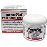 NEW CobraZol Pain Relief Cream 4oz Jar l Used by Pain Suffers of Muscle & Joint Pain