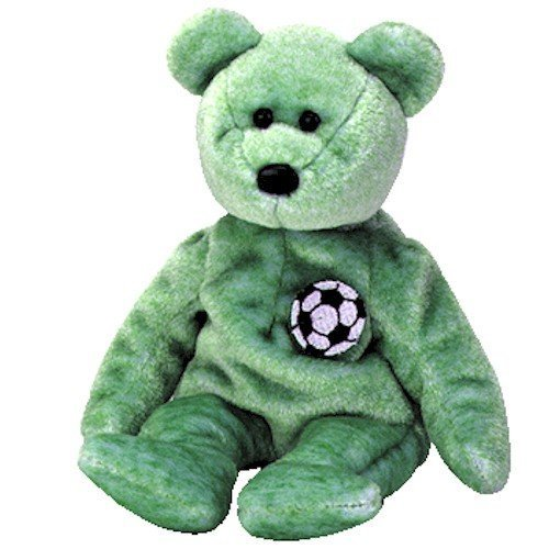 TY Beanie Baby - KICKS the Soccer Bear (Kicks Beanie Babies)