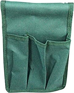 QOONESTL Garden Kneeler Tool Bag - Seat Storage Tote Stool Pouch, Garden Kneeler Seat Side Pockets, Portable Folding Kneeling Stool Chair 600D Oxford Cloth Bag