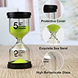 Sand Timers, Mosskic Hourglass Timer 1/3/5/10/15/30