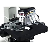 OMAX 40X-2000X Digital Lab LED Binocular Compound Microscope with Double Layer Mechanical Stage and USB Digital Camera