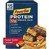 PowerBar Protein Snack Bar, Peanut Butter Caramel, 50 Gram, 1.76 Ounce 15 count