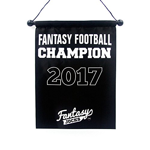 Fantasy Football Championship Banner Trophy (2017) -