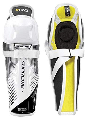 Bauer Supreme S170 Youth Hockey Shin Guards Size 9