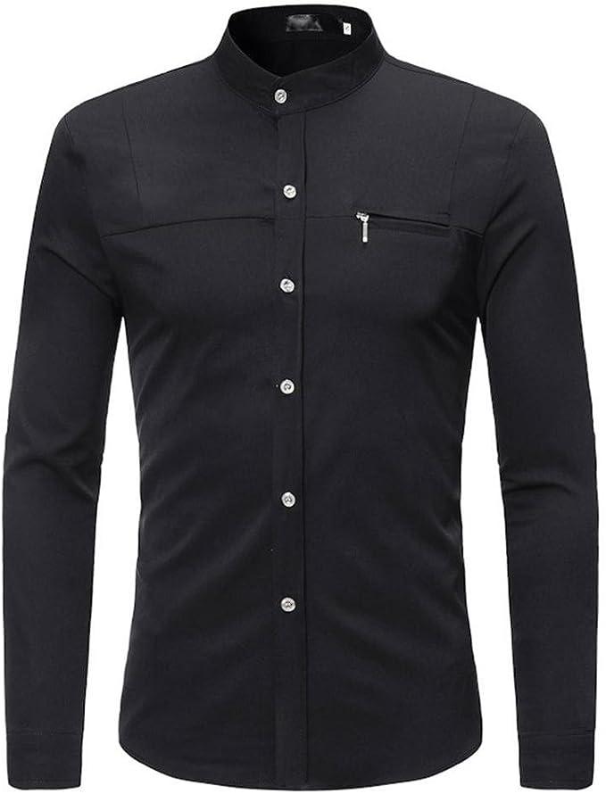 Uomo Maglietta KOLY Casual T Shirt Vintage Stretch Maglione