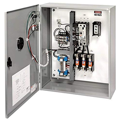 Keyswitch 1 Form C Auxiliary Contact 240VAC Red Pilot Light 120VAC Coil NEMA 1 Standard Enclosure 200 Ampere 30-60A Isolated Neutral Lug Mersen ES Fusible Shunt Trip Disconnect Switch