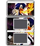Sonic the Hedgehog Burning Speed Fire Video Game Vinyl Decal Skin Sticker Cover for Nintendo DS Lite System
