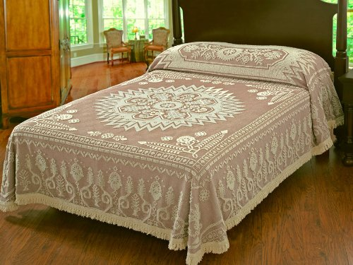 Maine Heritage Weavers Spirit of America Bedspread (Antique, Queen),