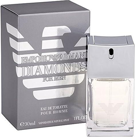 Giorgio Armani Emporio Armani Diamonds Eau de Toilette Spray for Men, 1 Ounce (Emporio Armani Eau De Toilette)