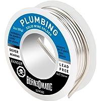 BernzOmatic SSW300 3 oz. Lead Free, General Purpose/Plumbing Solder by Bernzomatic