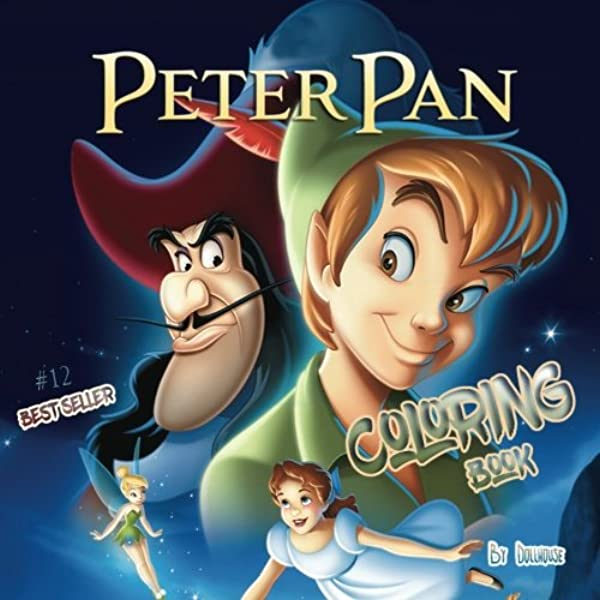 Peter Pan coloring pages on Coloring-Book.info   600x600