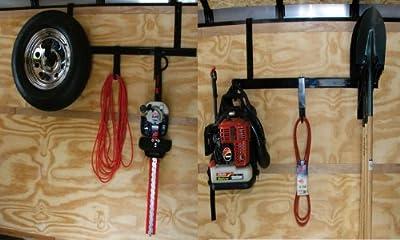 Enclosed Trailer Tool Storage Rack System by Pack'em Racks