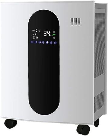 XMGJ Purificador de Aire, de Gran Volumen de Aire, extraíble formaldehído, Iones Negativos, Rueda móvil Portable Universal purificador, Adecuado for Grandes Habitaciones (Size : 530x330x670mm): Amazon.es: Hogar