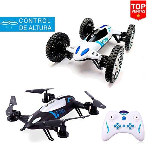 Coche Drone Transformer | 2 en 1 | 20 km/h | Control de Altura | Juguetes Baratos Niños