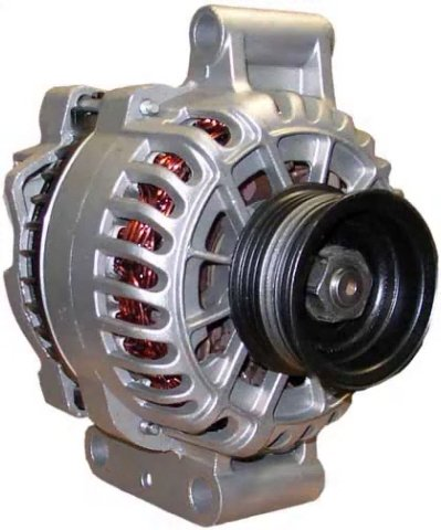 New Ford 6G Alternator for Excursion and F-Series F250 F350 7.3L(445) V8 (Diesel) 2002-2003, F450 and F550 Super Duty 7.3L Diesel, V8 Diesel 2002 2003