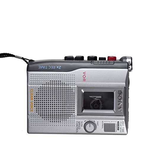 Sony TCM-200DV Standard Cassette Voice Recorder (Discontinued by Manufacturer) by Sony