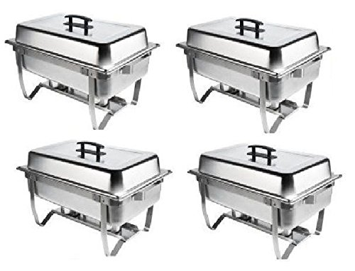 Chafer 4 Pack Premier Chafers Stainless Steel Chafer Dish 8 Qt. Capacity Quantity *Bonus $20 MFR Rebate 4 Chafing Dish Sets Brand New Full Complete Chafer Systems. Only From 1Dealz *Plus Bonus $25 Loyalty (Catering Kit)