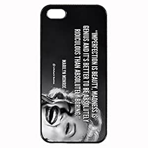 Marilyn Monroe Custom Image For SamSung Galaxy S4 Mini Phone Case Cover Diy pragmatic Hard For SamSung Galaxy S4 Mini Phone Case Cover High Quality Plastic Case By Argelis-sky, Black Case New