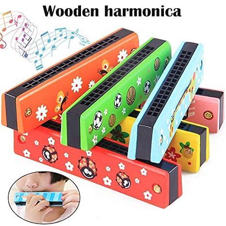 symboat juguete niños - Armónica en madera guardería Puzzle ...