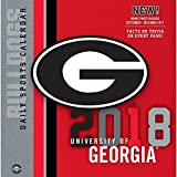 2018 Georgia Bulldogs Desk Calendar