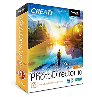 Cyberlink PhotoDirector 10 Ultra [PC Download]