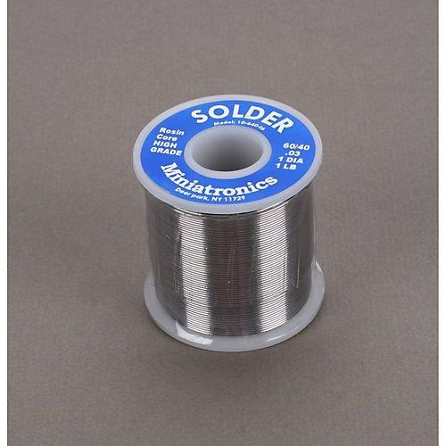 Miniatronics Corp 1064016 Rosin Core Solder 60/40 1 lb