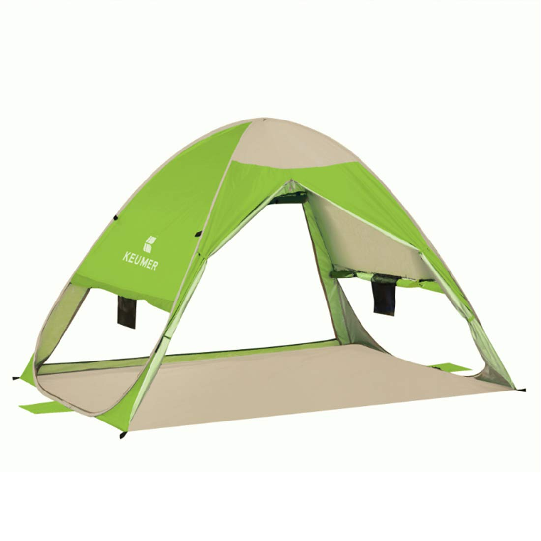 Olprkgdg 3-Personen- oder 2-Personen-Outdoor-Zelt für Wild-Camping (Farbe : Grün)