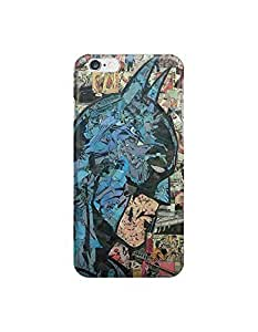 TOPPEST Batman Superhero Comic Book Dark Knight ?custom iPhone 6 4.7 inches case,durable iphone 6 hard full wrap back case cover for iphone 6 4.7""