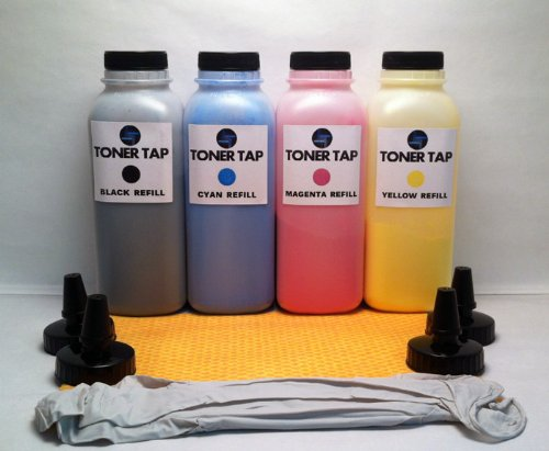 Toner Tap ® Refill Kit for Ricoh Aficio MP C2030, MP C205...