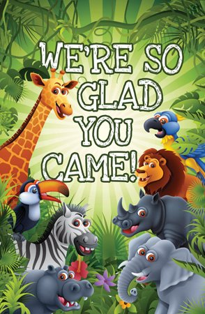 - Postcards - Attendance - All Ages - Were So Glad You Came! (Pkg. of 25) ...