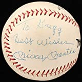 Mickey Mantle Signed OL Baseball Inscribed Best Wishes (Beckett LOA)
