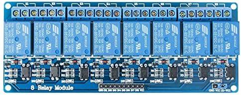 ButDillon Modulo Rel/é 8 Channel Relay 5V con Optoaccoppiatore Arduino Uno R3 Mega 2560 1280 DSP Arm PIC AVR STM32 Raspberry Pi