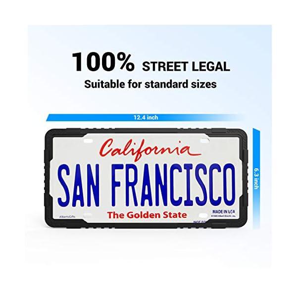 front license plates decorative