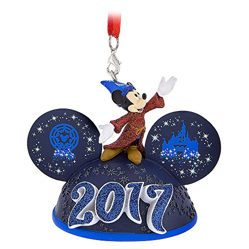 Theme Parks Disneyland 2017 Sorcerer Mickey Mouse Light-Up Ear Hat Ornament (Themes 2017 Kitchen)
