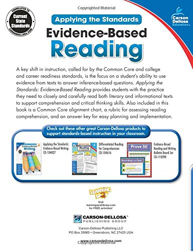 Workbook first grade worksheets pdf : Amazon.com: Evidence-Based Reading, Grade 4 (Applying the ...