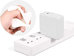 MacBook Silicone Power Adapter Cover Case for Apple MacBook Pro 13 A2251/A2289 and MacBook Pro 13 Touch Bar A2159 A1706 A1708 A1989,MacBook Pro 13 Retina A1502/A1425,White