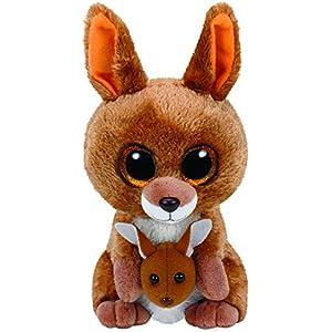 ty beanie boos kipper - brown kangaroo reg plush - 51faOxkmZlL - Ty Beanie Babies Boos 37226 Kipper The Kangaroo