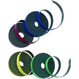 Nobo - Cinta adhesiva magnética (5 mm x 1 m), color surtido