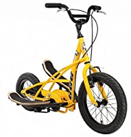 Stepperbike Crossbike Fahrrad Crosstrainer Funbike Stepper Bike 3G Junior gelb