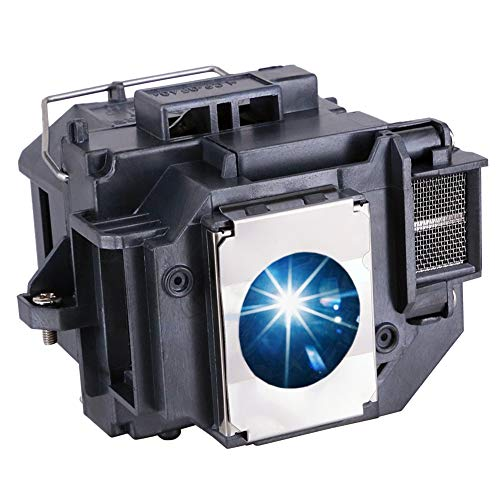 EWOS ELP54 Replacement Projector Lamp Bulb for Epson ELPLP54/ELPLP58 Powerlite Home Cinema 705HD S7 S9 X9 S8 X7 EX31 EX51 EX71 EX5200 EX7200 EX3200 S10 H310A H311A H331A H368A H369A H376A Projectors
