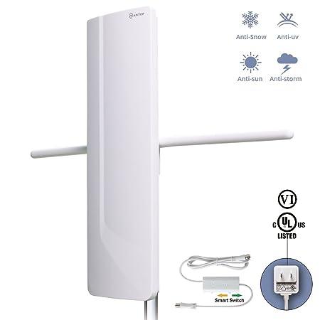 Review Antop HDTV Antenna- Outdoor/Indoor